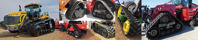 Rubber ag tracks by Track World Australia
